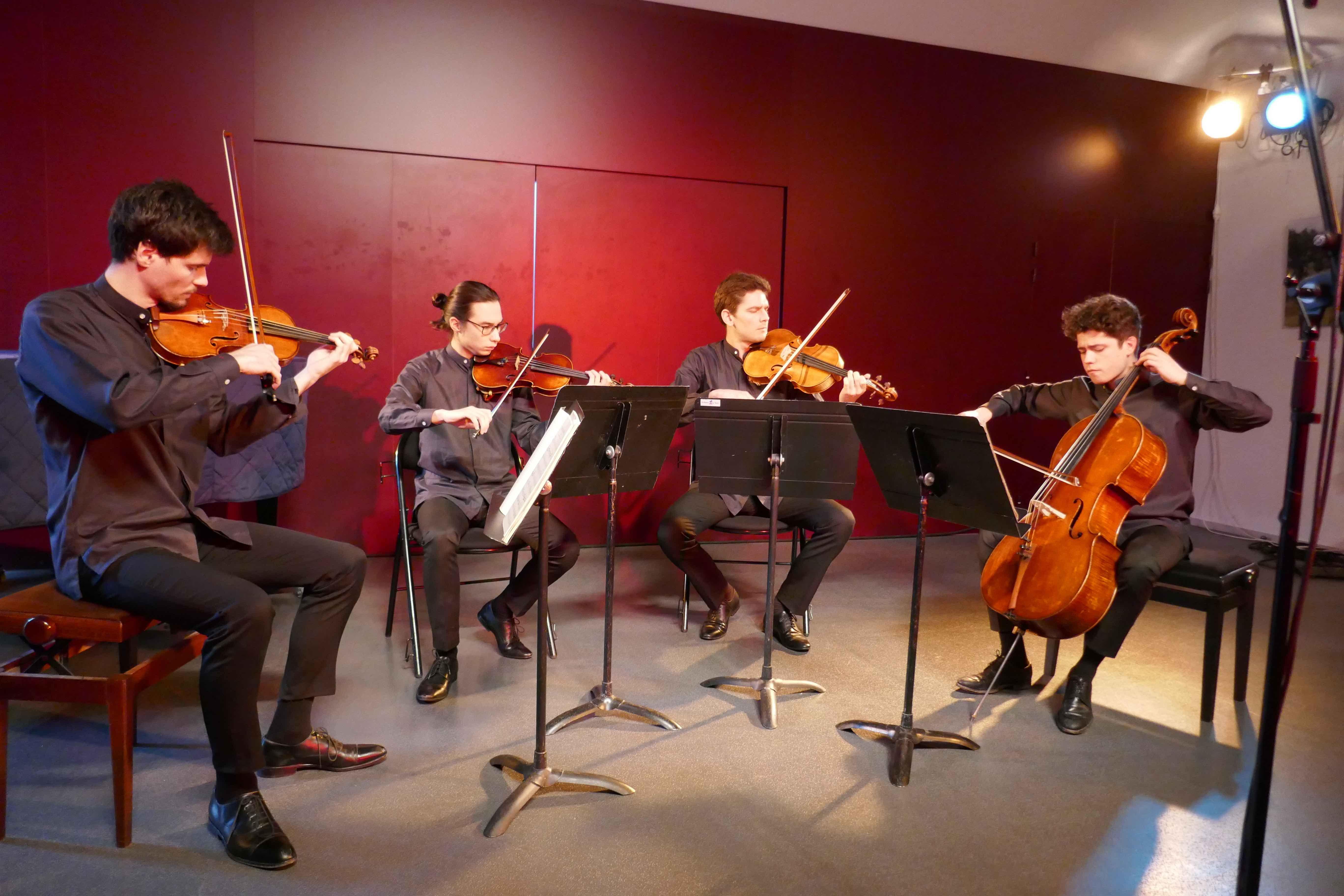 quatuor Elmire mars 2019